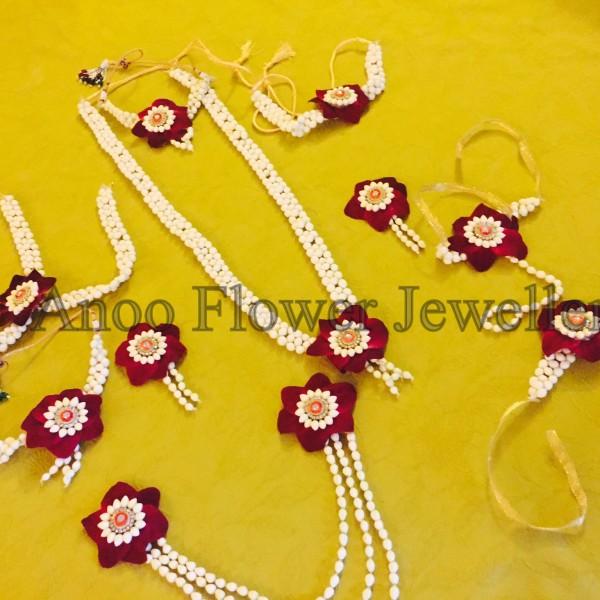 buy flower jewellery online Mumbai and Bangalore