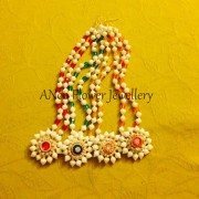 Order Artificial flower jewellery Online from Anoo flower jewellery